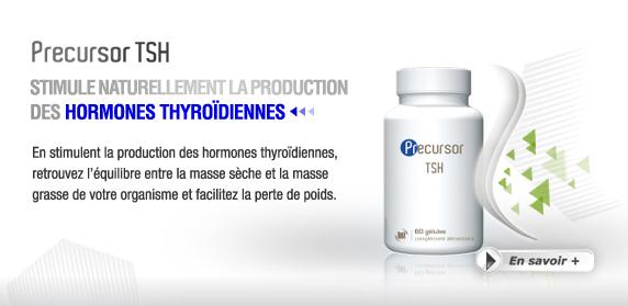 Precursor TSH : Stimule naturellement la production des Hormones Thyroïdiennes