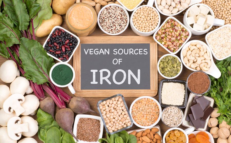 Alimentos y plantas fuente de hierro