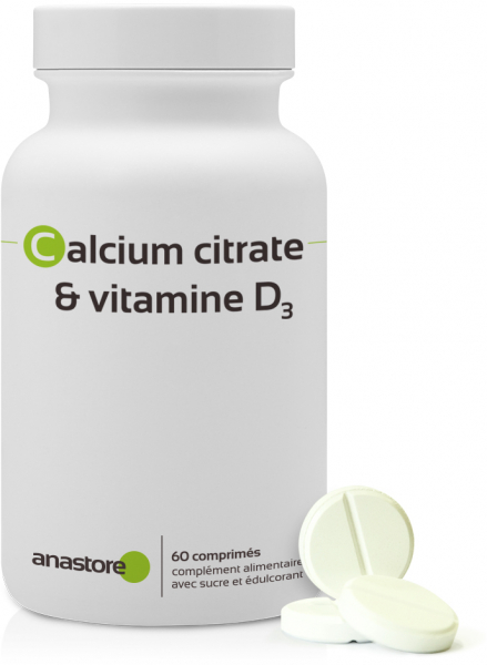 Calcium citrate + vitamine D3