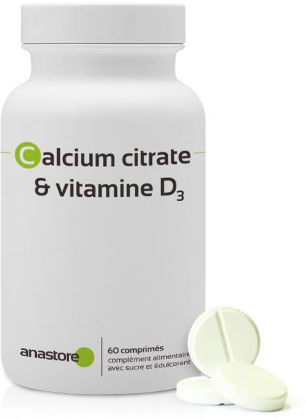 Calcium citrate + vitamine D3